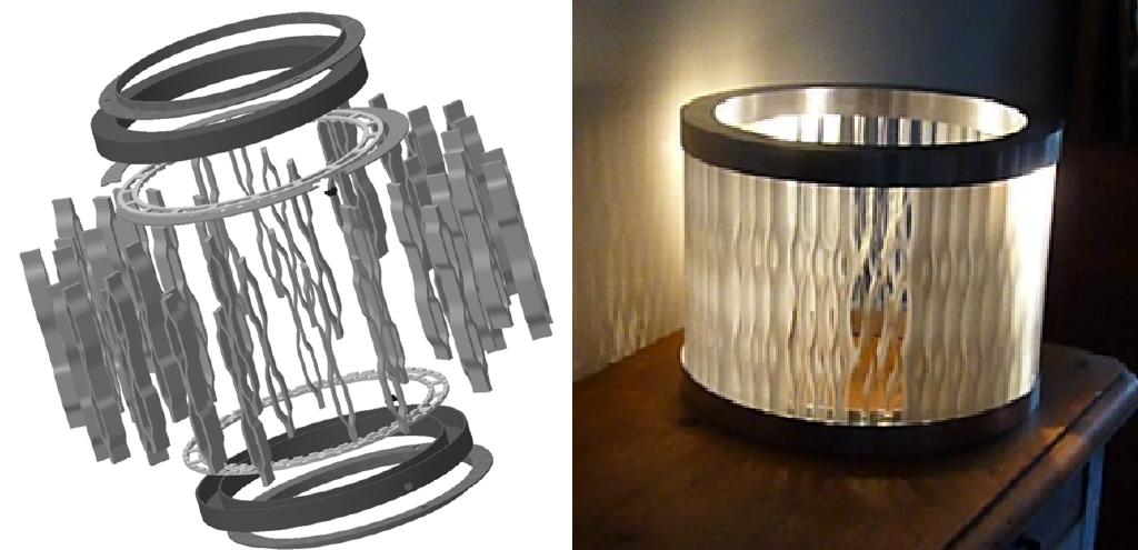 final lamp design